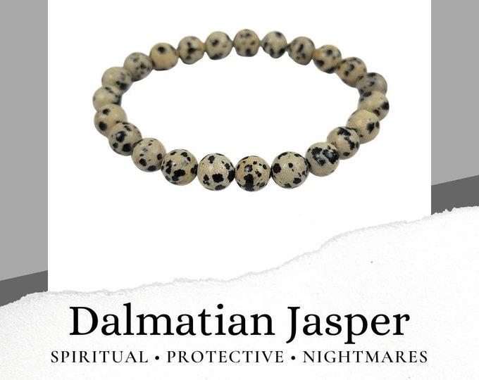 Dalmation Jasper Bracelet