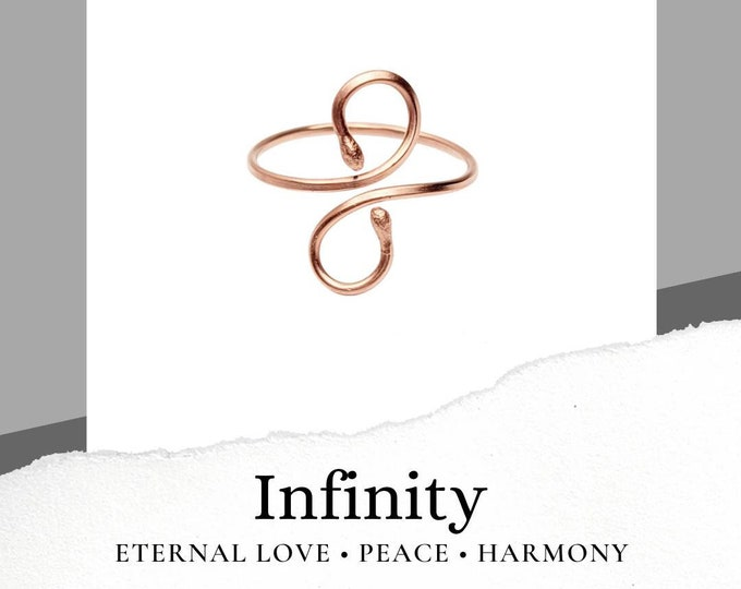 Infity Copper Ring