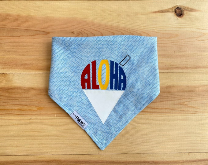 Featured listing image: Aloha Shave Ice Bandana