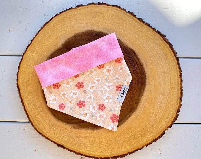Pink Sakura Flower Bandana