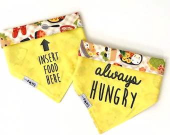 Hungry Bento Reversible Bandana