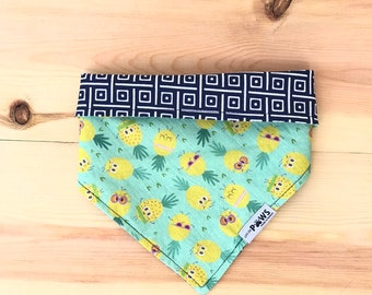 Pineapple Maddness Reversible Bandana