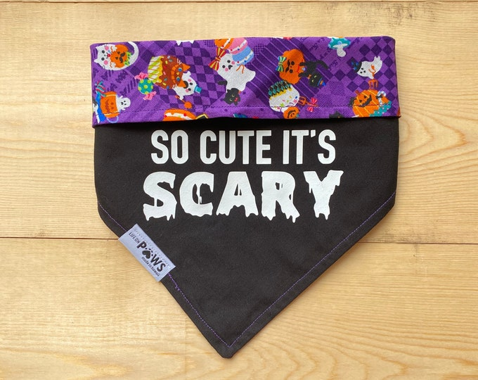 So Cute It's SCARY Reversible Bandana