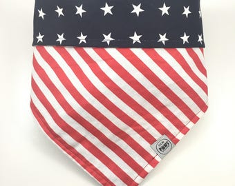 Murica - American Flag Reversible Bandana