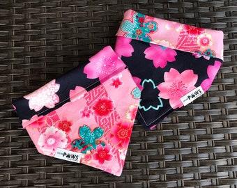 Cherry Blossom Bliss Reversible Bandana