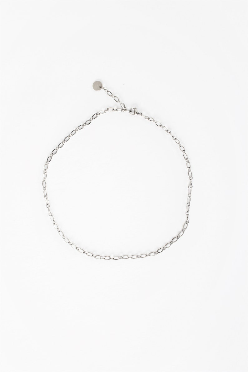 new fashion jewelry 2019 gift for woman Simple stainless steel chain layering necklace everyday stainless steel jewelry