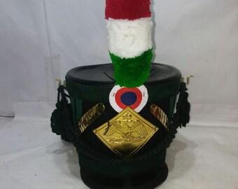 Behang Tschako Fangschnak Shako helmet cord Grenadier Napoleon Larp sca