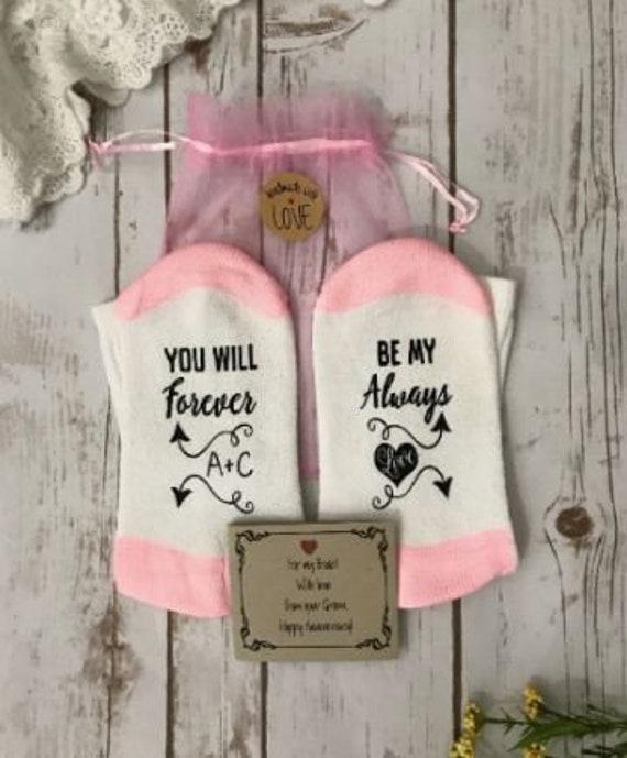 2nd Anniversary Wedding Gift: 2nd Anniversary Cotton Wedding Gift Cotton Socks Second