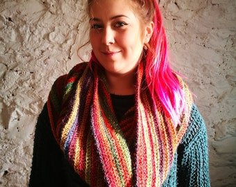 Rainforest Crochet Versatile Snood Infinity Scarf