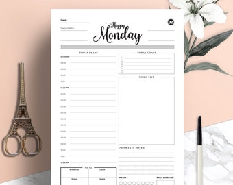 image about Etsy Printable identified as Printable planner Etsy