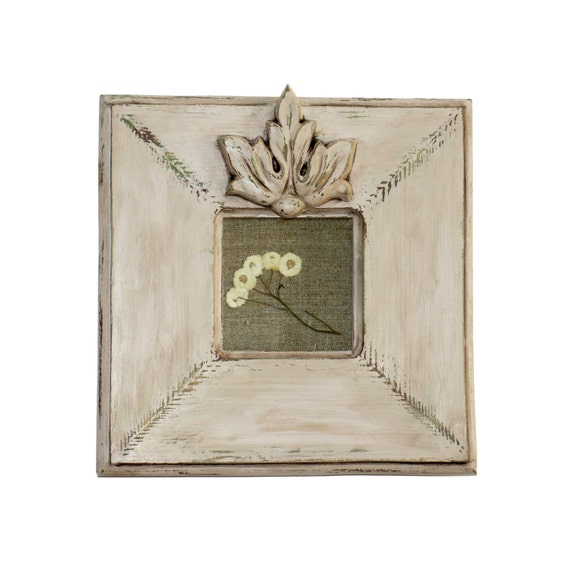 12 Inch Square Picture Frame La Canea With Vintage Etsy