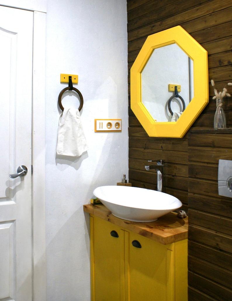 Pleasant Modern Wooden Towel Holders Bathroom Towel Rack Hand Towel Holder Kitchen Towel Rack Interior Design Ideas Skatsoteloinfo