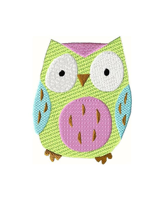 beautiful Owl Embroidery Pattern Part - 17: Owl Embroidery Design Baby Embroidery Designs Kids | Etsy