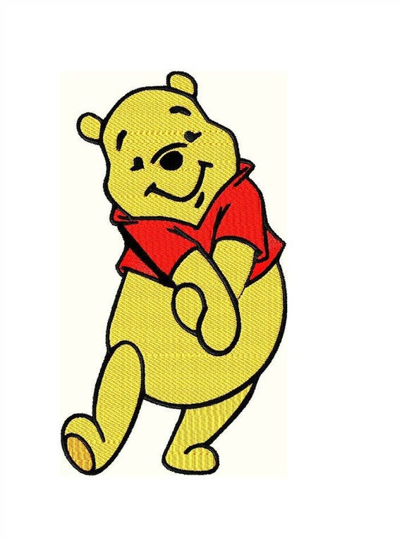 Winnie The Pooh Embroidery Design Baby Embroidery Designs Etsy