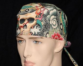 Zen Charmer - Unisex Custom Made Scrub Cap Hat Healthcare Headgear for Frontliners Doctors Nurses EMS