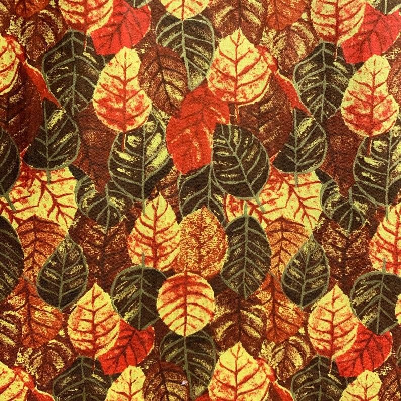 Fall Foliage  Custom Made Scrub Tops Nursing Uniforms image 0