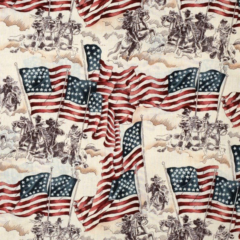 Flag of Freedom  Custom Made Scrub Tops Nursing Uniforms image 0