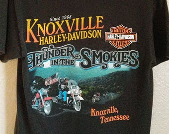 Cool Broken-In Harley Shirt - Knoxville