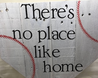 Wood Sign - No Place Like Home