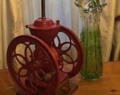 Antique Coffee Mill Lamp Enterprise MFG Co Philadelphia 1800 39 s Ted Cast Iron Farmhouse General Store Decor