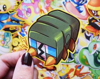 Charjabug Sticker