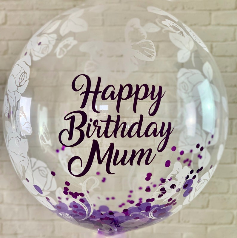 Personalised Balloon Gift For Mum Mums Birthday