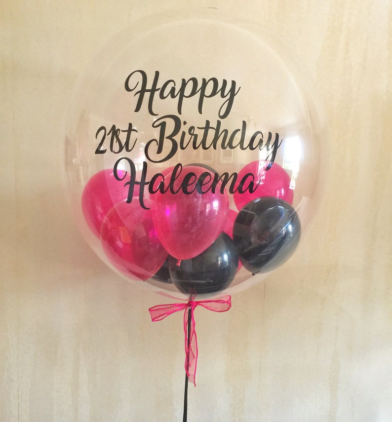 Personalised 18th 21st 30th 40th 50th 60th Birthday Balloon