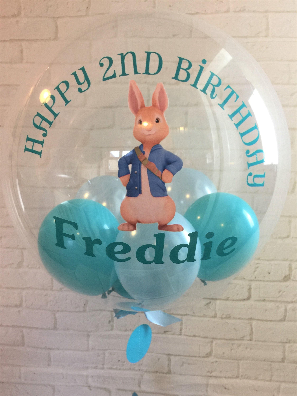 Peter Rabbit Birthday Balloon Gift First In