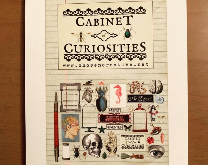 Featured listing image: Curiosities Oddities - 15 pack postcards