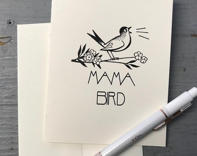 Featured listing image: Mama Bird card