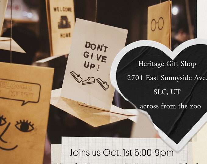 Featured listing image: Utah Letter Writing Club - October 1, 2021 meet up