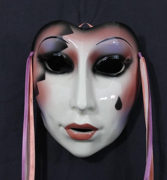Rare Clay Art of San Francisco collectible wall mask