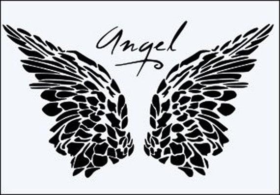 Angel Stencil MYLAR Sheet 190 Micron Reusable Plastic Craft Stencil