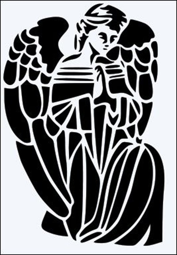 Praying Hands 190 micron Mylar Stencil A3 A5 A4