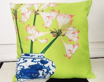 Cushion cover for home decor - Made by artist for living room, bedroom, terrace.