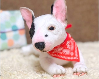 b9bd36b30cc Plush bull terrier puppy 7