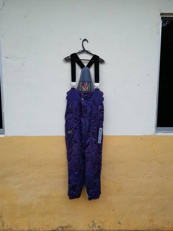 Vintage Overall Ski Jumpsuits Asics
