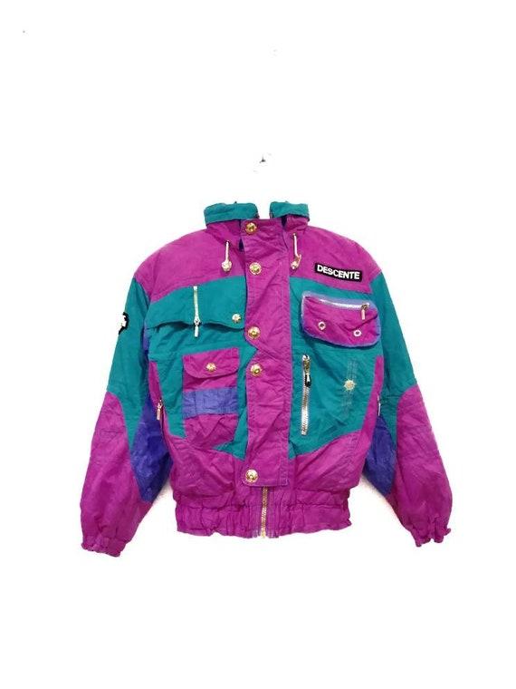 Vintage Descente Multicolour Ski Jacket
