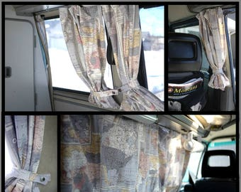 westphalia van custom curtains westy curtains van curtains custom curtains drapes - Custom Curtains