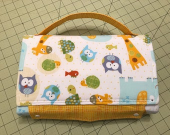 Packable Diaper Bag Changing Pad Clutch