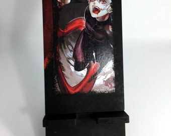 anime Tokyo Ghoul, smartphone stand, telephone