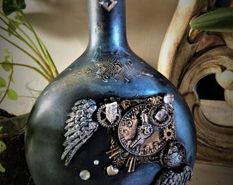 Bottle-Steampunk-fish discus