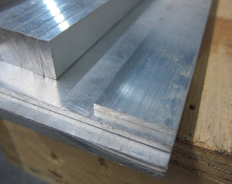 1 Pc of Mill Finish Aluminum Sheet Plate 6061 T6 .190 48 x 5.125
