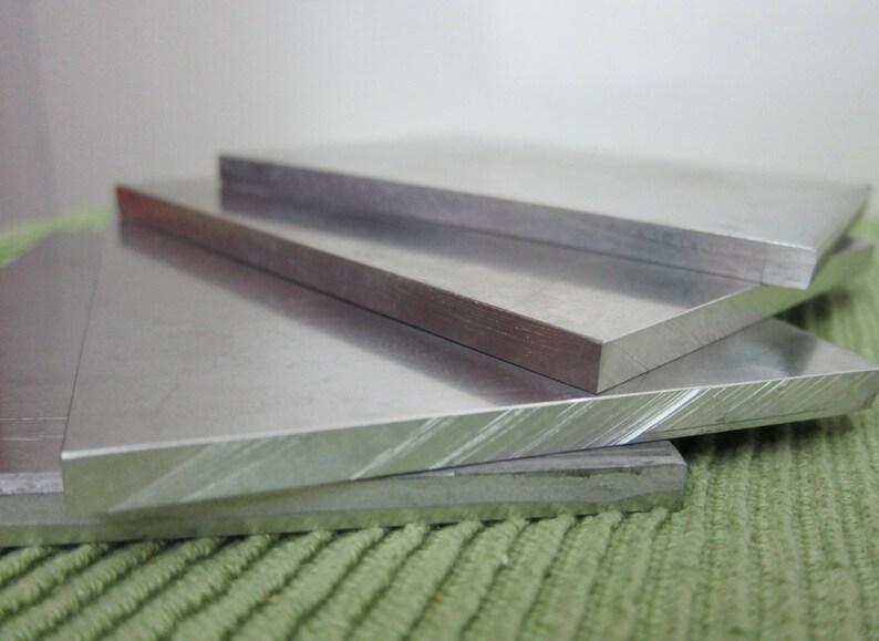 """1//4/"""" X 2-1//2/"""" X 12/"""" Long Aluminum Flat Bar 6061-T6"""