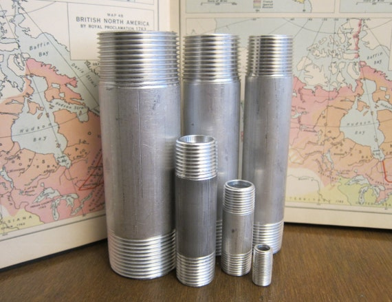 "2 1//2/"" Schedule 40 6061 Aluminum Pipe 90/"" Long"