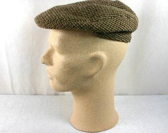 0c895308d79 Vintage The Viking Flat Cap Made In Britain Flat Cap Vintage English Flat  Cap