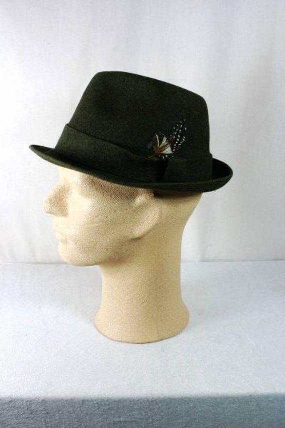 Borsalino vintage sombrero vintage italiano hombres sombrero etsy jpg  570x855 Sombreros italianos para hombres f49d2f3b78f