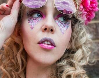 Eco Glitter Fun Candy Floss blend of biodegradable glitter