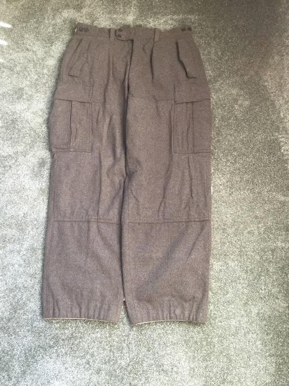 Schwarz/Huckelhoven 1961 Wool Hunting Pants