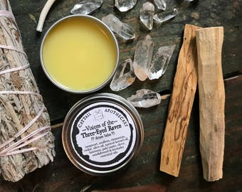Dream Balm / Lucid Vivid Dreaming / Solid Perfume / Witches Flying Ointment / Astral Projection & Travel / Third Eye / Mugwort / Halloween